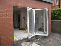 Bi-Fold Aluminium Doors